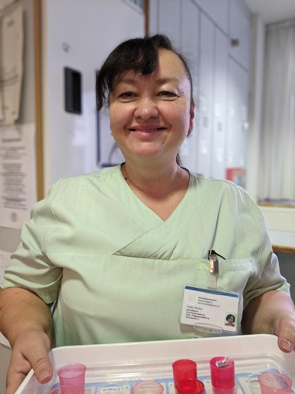 Schwester Nadja aus dem Marienhospital - Profilbild