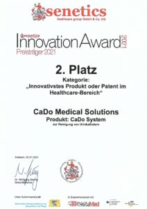 InnovationAward 2021 für CADO-System